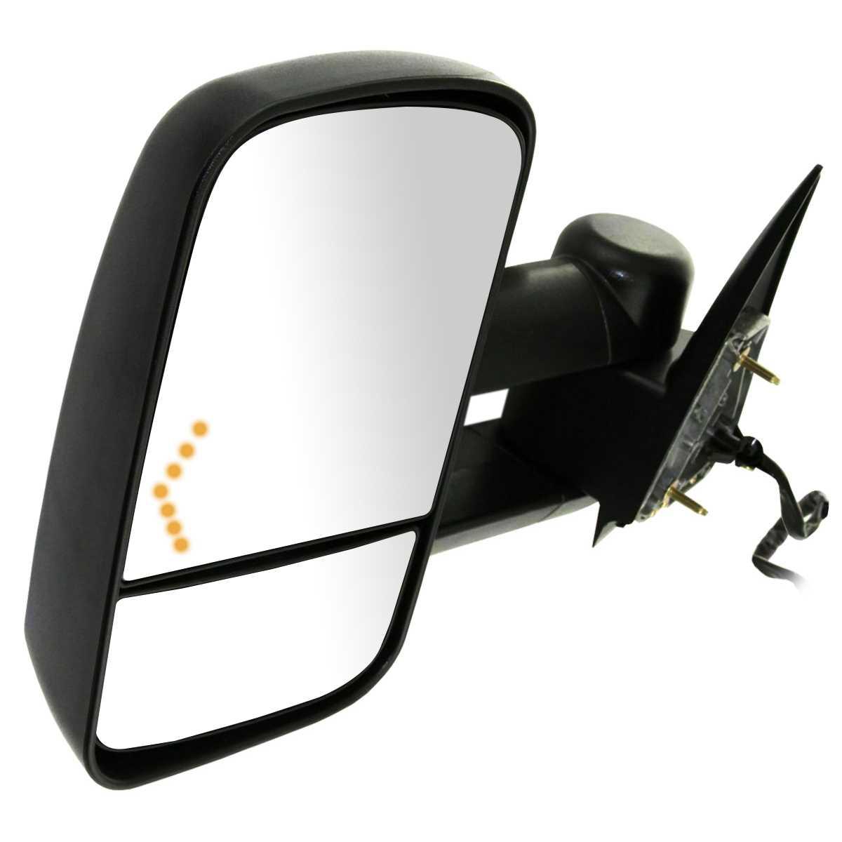 Power-Heated-Tow-Mirrors-Set-Fits-03-07-Silverado-Sierra-Pickup-W-LED-Signals
