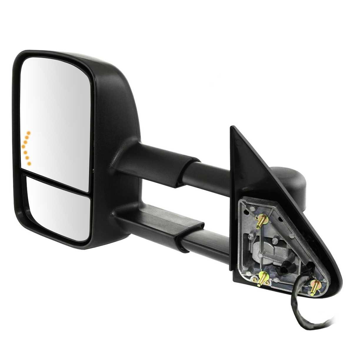 Pair-2-Power-Heated-Signal-Side-Mirror-Fits-2003-2006-Chevrolet-Silverado-1500 thumbnail 7