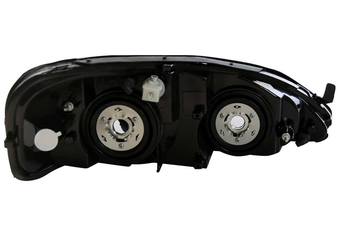 Head Light Assembly Pair For 2004 2005 2006 2007 2008 Pontiac Grand Prix